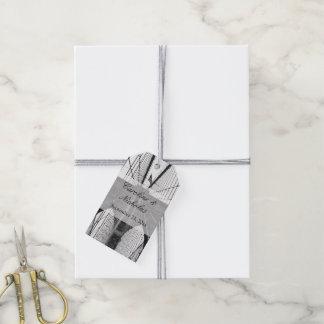New York City Brooklyn Bridge Wedding Gift Tags