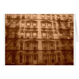 New York City Building Card