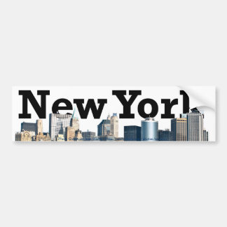 New York City Bumper Sticker