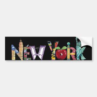 New York city Bumper Sticker