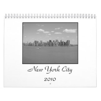 New York City Calender Calendars