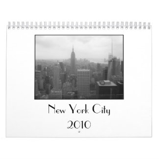 New York City Calender Wall Calendar