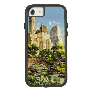 New York City Central Park Vintage Poster Case-Mate Tough Extreme iPhone 8/7 Case