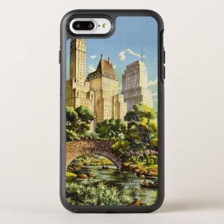 New York City Central Park Vintage Poster OtterBox Symmetry iPhone 8 Plus/7 Plus Case