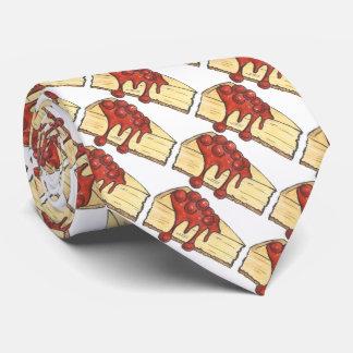 New York City Cheesecake NYC Cherry Cheese Cake Tie