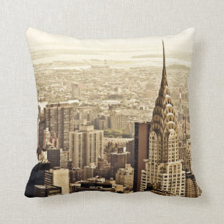 New York City - Chrysler Building Cushion