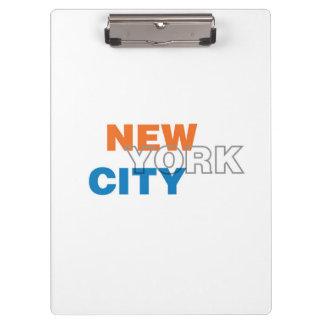 New York City Clipboard