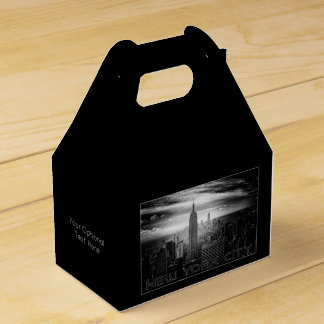 NEW YORK CITY custom favor box