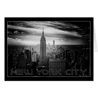 NEW YORK CITY custom greeting card