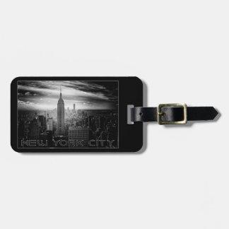 New York City custom luggage tag