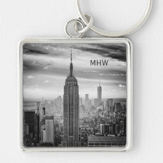 NEW YORK CITY custom monogram key chain