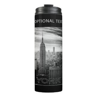 NEW YORK CITY custom text tumbler