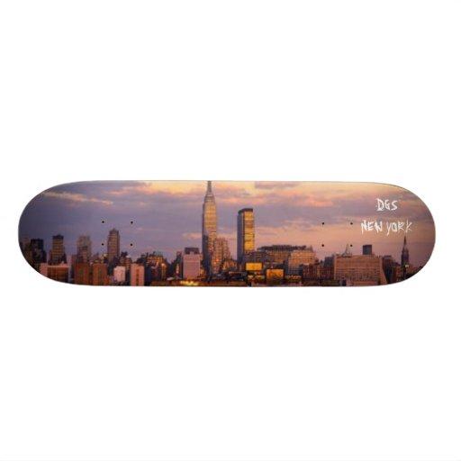 new-york-city, DGSNEW YORK Skateboard Deck