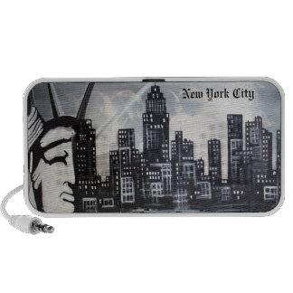 New York City Doodle Notebook Speaker