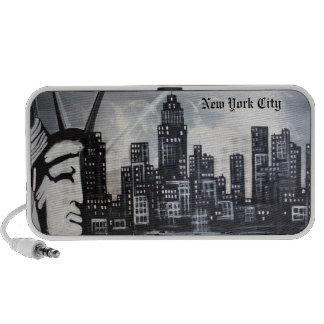 New York City Doodle Notebook Speakers