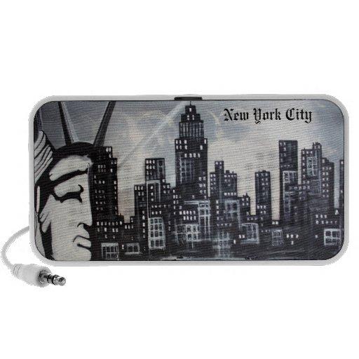 New York City Doodle Notebook Speakers