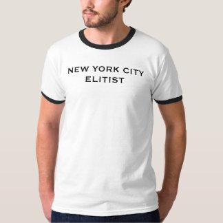 NEW YORK CITY ELITIST TEE SHIRT