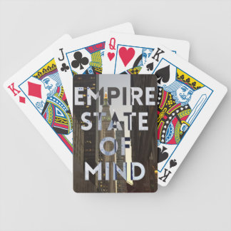 new-york-city-empire-state-of mind bicycle playing cards
