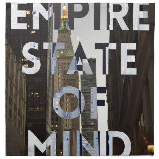 new-york-city-empire-state-of mind napkin