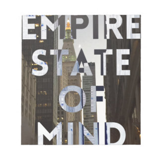 new-york-city-empire-state-of mind notepad