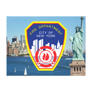 New York City Fire Department Canvas Print