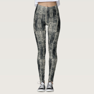 New York City Fire Escape Print Leggins Leggings