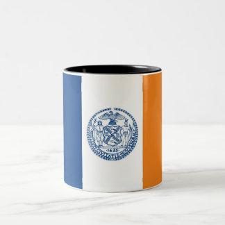 new york city flag united states america country coffee mug
