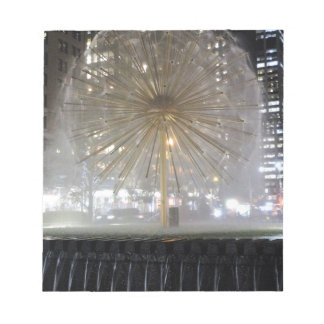 New York City Fountain Notepad