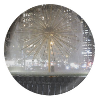 New York City Fountain Plate