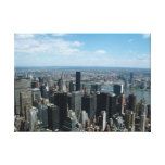 New York City from the Empire State Building Stretched Canvas Prints