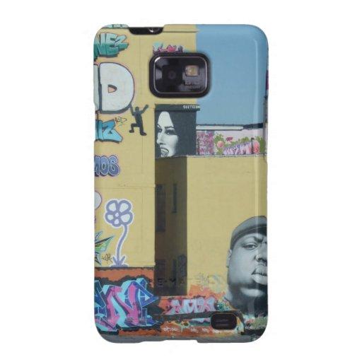 New York City Graffiti Samsung Galaxy SII Cover