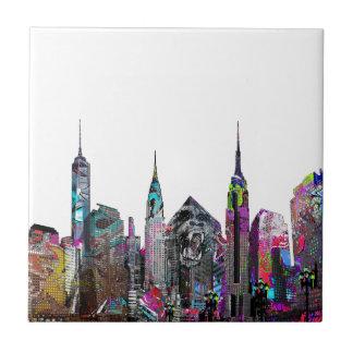 New York City graffiti Ceramic Tile