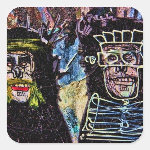New York City Graffiti Wall Photo Sticker