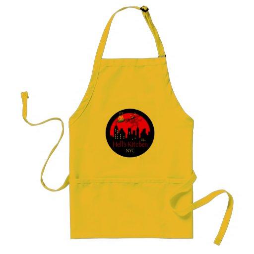 New York City Hell's Kitchen Apron