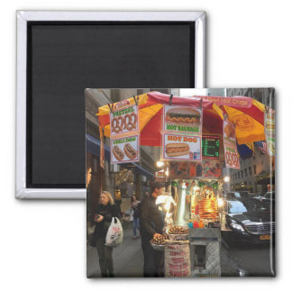 New York City Hot Dog Stand Magnet