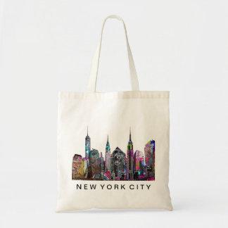 New York City in graffiti Tote Bag