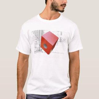 New York City -  Isamu Noguchi's Red Cube T-Shirt