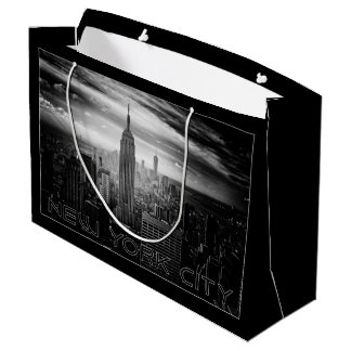 NEW YORK CITY large gift bag