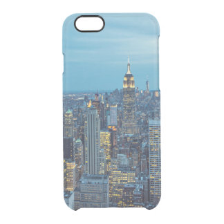 New York City Lights Clear iPhone 6/6S Case
