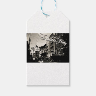 New York City Little Italy Gift Tags
