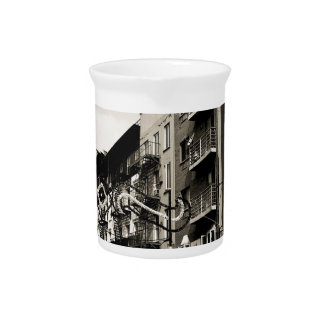 New York City Little Italy Pitcher