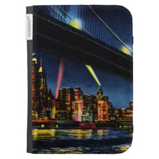 New York City Manhattan at Night Kindle 3G Covers
