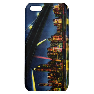 New York City Manhattan at Night iPhone 5C Covers