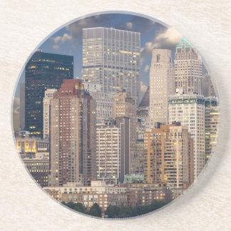 New York City Manhattan Beverage Coaster