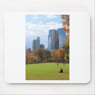 New York City Manhattan skyline panorama viewed fr Mousepad