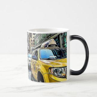 New  York City Manhattan Taxi cab Coffee Mug