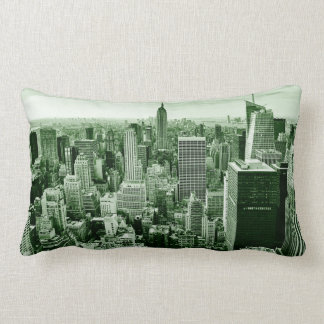 New York City - Manhattan - Vintage Lumbar Cushion