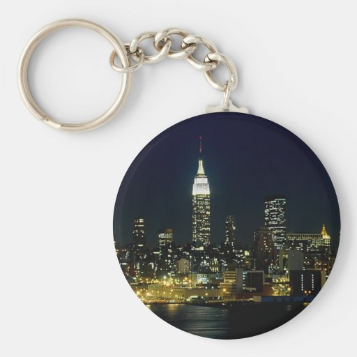 New York City Mooned Key Chains