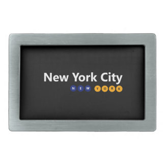 New York City, New York Belt Buckle