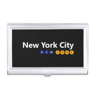 New York City, New York Business Card Holder